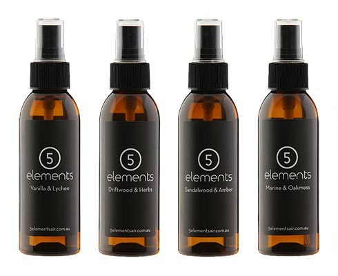 See the range of 5 Elements room sprays available online